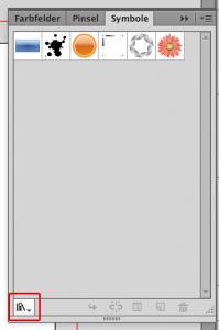 Symbole in Illustrator für Visitenkarte